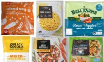 Food Recall: Frozen Vegetables Recalled Over Potential Listeria Contamination