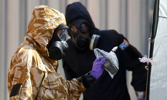 UK Police Find Source of Novichok Nerve Agent in Small Bottle