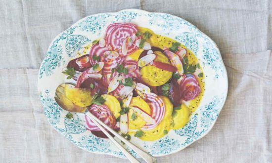 Shaved Radish & Beet Salad
