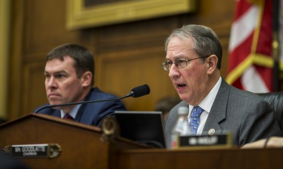 House Judiciary Committee Chairman Bob Goodlatte (R-Va.) during a hearing in Washington on Dec. 13, 2017. (Zach Gibson/Getty Images)
