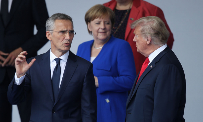 Trump Seemed To Exhibit Multiple Personalities At NATO Summit