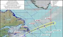 Hurricane Chris Headed to Newfoundland as Post-Tropical Storm