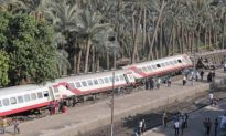 Train Derails in Egypt: 55 Injured, Cause Unclear