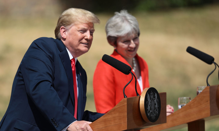 Trump Calls European Union a U.S. `Foe,' Citing Trade Tensions