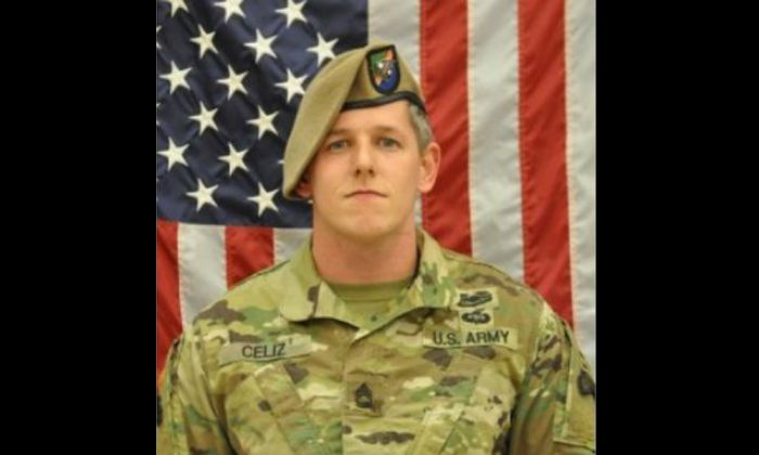 The U.S. Department of Defense on Friday identified the American soldier who was killed in Afghanistan earlier this week as Christopher Andrew Celiz. (US Army)