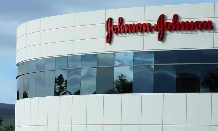 FILE PHOTO: A Johnson & Johnson building is shown in Irvine, California, U.S., January 24, 2017.   (Reuters/Mike Blake)