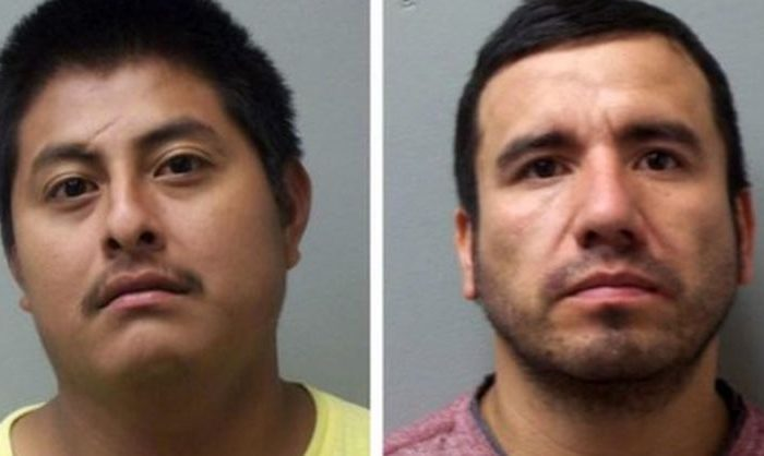 Yoni Aguilar, left; Israel Palomino; right. (Madison County Sheriff's Office)