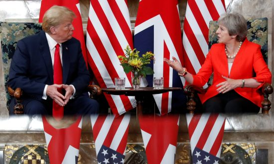 President Trump's Whirlwind Visit to the UK