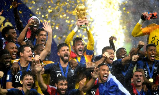France Downs Croatia to Win Second World Cup