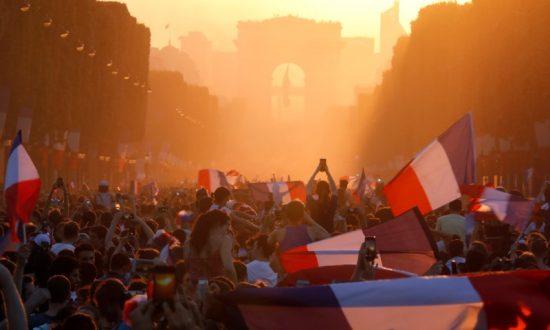 France's World Cup Celebration Marred by Violence