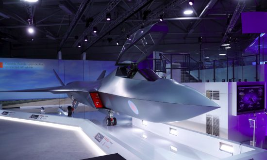 Britain Showcases Model of New Fighter Jet Tempest