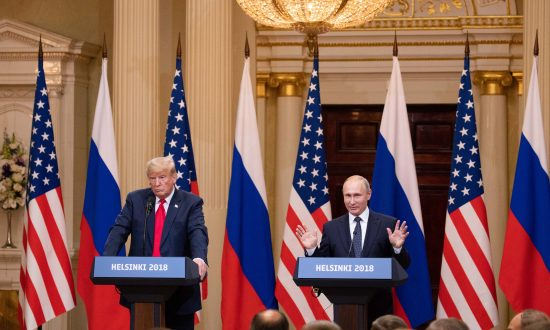 Trump and Putin Finish Meetings on a High Note