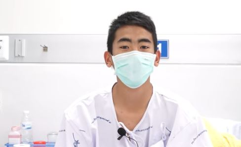 Thai Soccer Players Rescued From Cave Speak From Their Hospital Beds