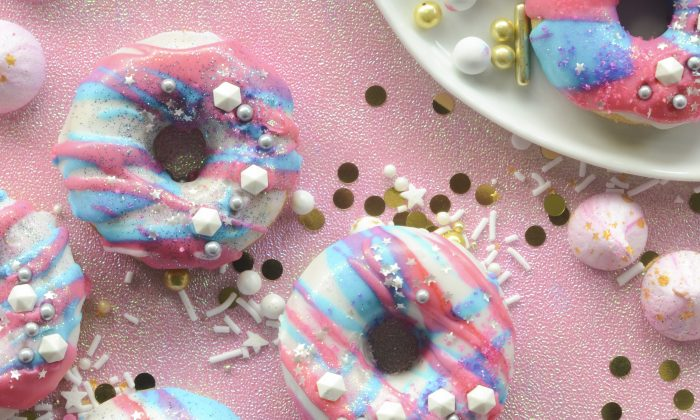 Unicorn Universe Baked Donuts. (Rachel Johnson)