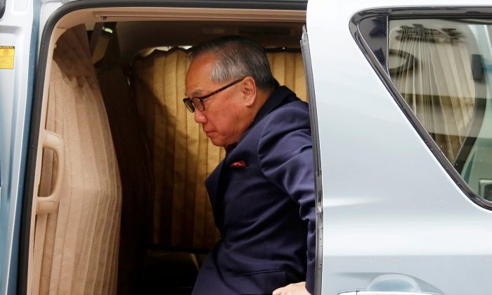 Former Hong Kong Chief Executive Donald Tsang arrives at the High Court for his appeals court judgment on a misconduct charge in Hong Kong, China, July 20, 2018. (Bobby Yip/REUTERS)