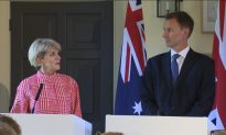 Australia and UK Ready to Agree to Free Trade Deal: Bishop