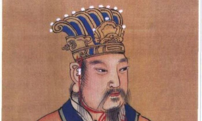 King Wen (1152–1056 B.C.) credited with founding the Zhou Dynasty.  (Public Domain)