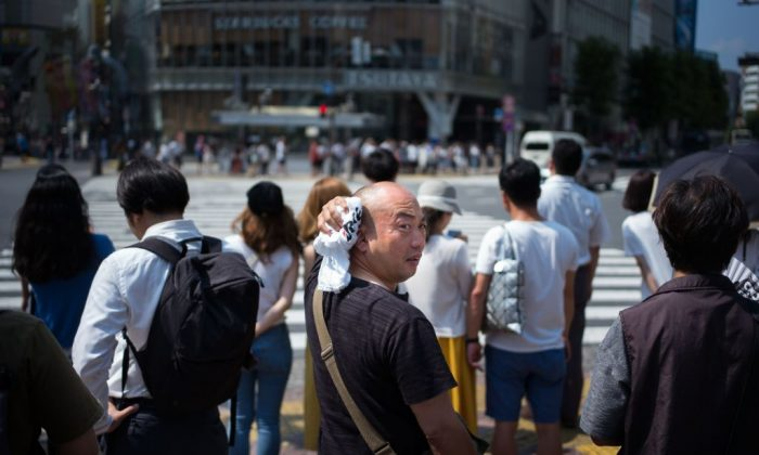 Heat wave breaks records in Japan, S. Korea