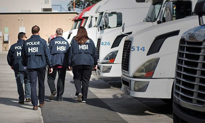 ICE delivers more than 5,200 I-9 audit notices to businesses across the United States in a 2-phase nationwide operation between July 16 and July 20, 2018. (ICE.gov)