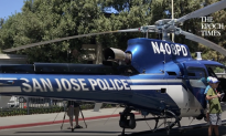 San Jose Police Unveils Newly Upgraded 'Air3' Helicopter