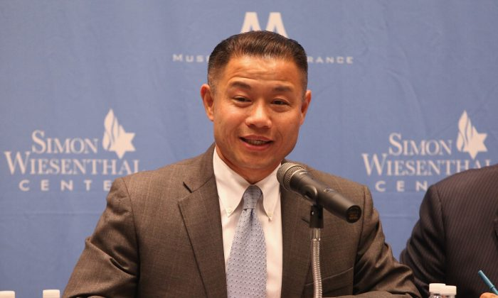 Former city comptroller John Liu attends The New York City Mayoral Forum on Cultural Sensitivity & Tolerance at the Museum of Tolerance on August 14, 2013 in New York City.  (Taylor Hill/Getty Images)