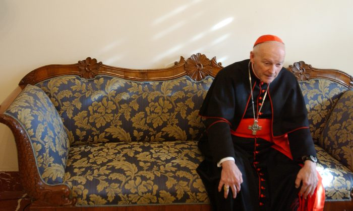 Cardinal steps down amidst mushrooming sex abuse scandal