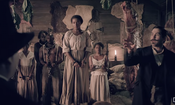 "A still from ""Death of a Nation,"" a film from Dinesh D'Souza showing the history of the Democratic Party and its ""plantation"" system of politics. (Courtesy of Dinesh D'Souza)"
