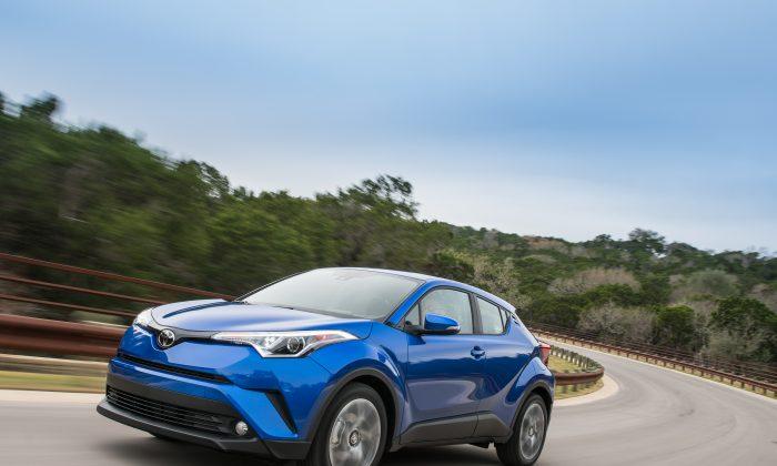 2018 Toyota C-HR. (Courtesy of Toyota Newsroom)