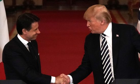 Italy's Conte Praises Trump as a 'Strong Advocate' for Americans