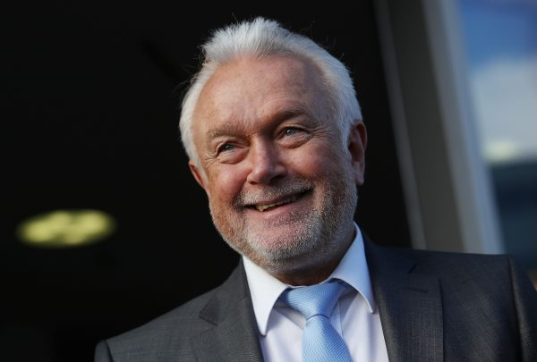 File photo of Wolfgang Kubicki of the German Free Democratic Party (FDP), arriving for coaliton talks on November 17, 2017 in Berlin, Germany. (Photo by Sean Gallup/Getty Images)