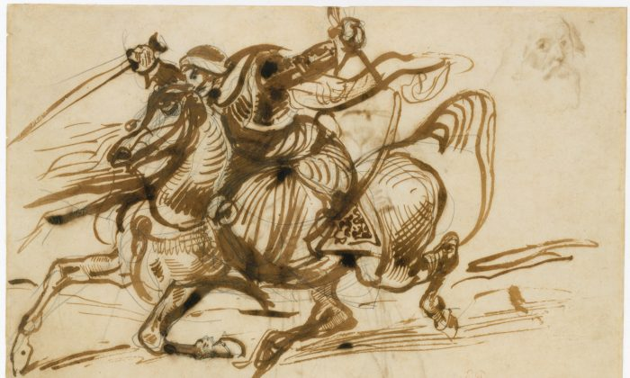 """The Giaour on Horseback,""