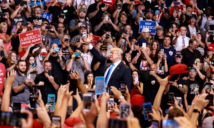 Image result for trump rally pennsylvania