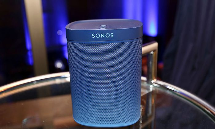 Sonos and Blue Note Records celebrate 75 years of jazz music and the launch of the Blue Note Limited Edition Sonos Speaker at The Iconic Capitol Records Tower on Feb. 4, 2015 in the Hollywood district of Los Angeles, California.  (Jesse Grant/Getty Images for Sonos Studio)