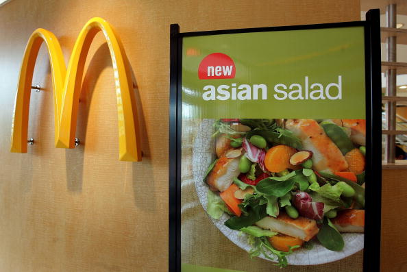 McDonald's salads have sickened almost  400 people