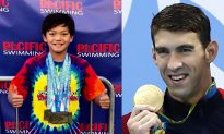 10-Year-Old Swimmer Breaks Michael Phelps's Old Record