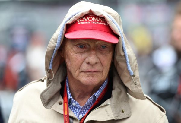 Mercedes' non executive chairman Niki Lauda during the Britain Formula One Grand Prix 2016 in Silverstone, England, 10 July 2016. (REUTERS/Matthew Childs Livepic)