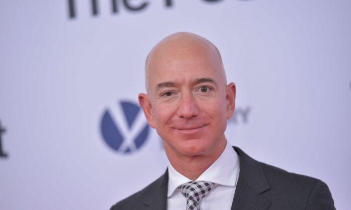 Amazon CEO Jeff Bezos in Washington on Dec. 14, 2017. (Mandel Ngan/AFP/Getty Images)