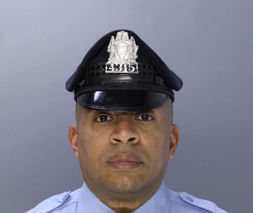Twenty-year veteran, Police Officer Jaison Potts was shot in the face by a homeowner who mistook him for a home intruder. (Philadelphia Police Department)
