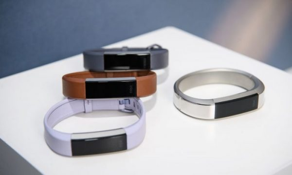"""Fitbit unveils Alta HR, the world's slimmest fitness wristband with continuous heart rate, as well as two new sleep tracking features """"Sleep Stages and Sleep Insights """" at an event hosted by actress and dancer Julianne Hough on March 1, 2017 at SWERVE Fitness in New York. (Dave Kotinsky/Getty Images for Fitbit)"""