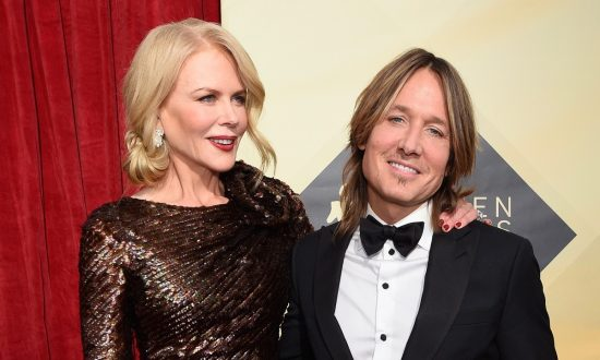 Actor Nicole Kidman and musician Keith Urban at the 24th Annual Screen ActorsGuild Awards at The Shrine Auditorium on Jan. 21, 2018, in Los Angeles.  (Kevork Djansezian/Getty Images)