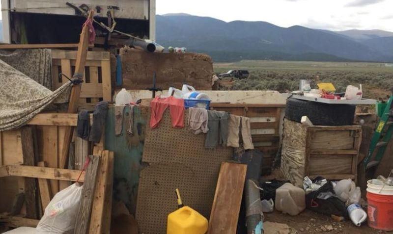 The three mothers of the 11 malnourished children found living in a filthy New Mexico compound were arrested and charged. (Taos County Sheriff's Office)