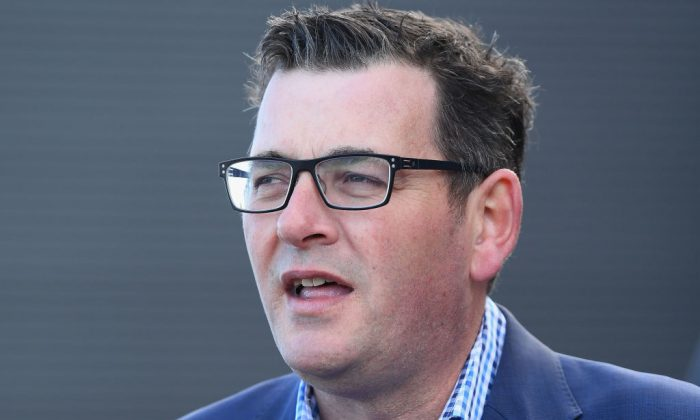 Premier, Daniel Andrews speaks during a media opportunity in Melbourne, Australia, on July 17, 2018. (Quinn Rooney/Getty Images)