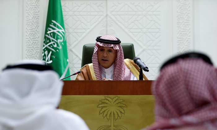 Saudi FM says 'nothing to mediate' in dispute with Canada