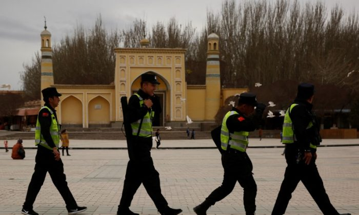 China's state media defends Xinjiang Muslim crackdown