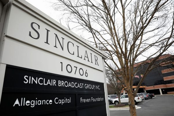 The headquarters of the Sinclair Broadcast Group.