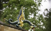 80 Dragons Return to London's 18th-Century Pagoda
