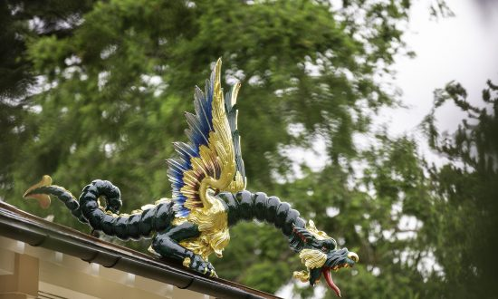 80 Dragons Return to London's 18th-Century Pagoda