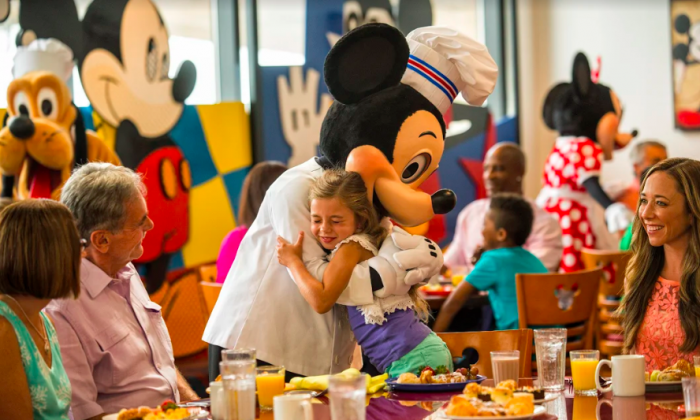 Meeting Mickey is an unforgettable experience. (Courtesy of Disney)