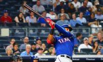 MLB Recap: Rangers' Guzman Hits 3 HRs vs. Yanks