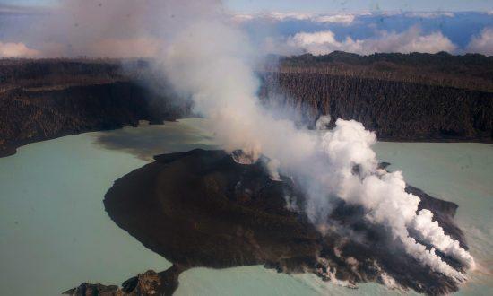 Volcano Creating Crisis on Vanuatu's Ambae Island